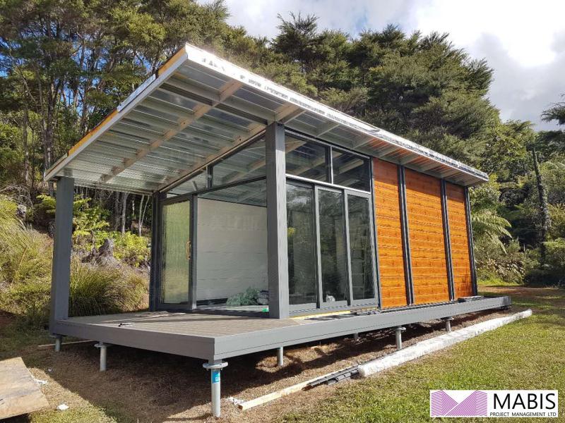 M-B-2 Tiny house travel resort prefab motel luxury room 旅游渡假房屋