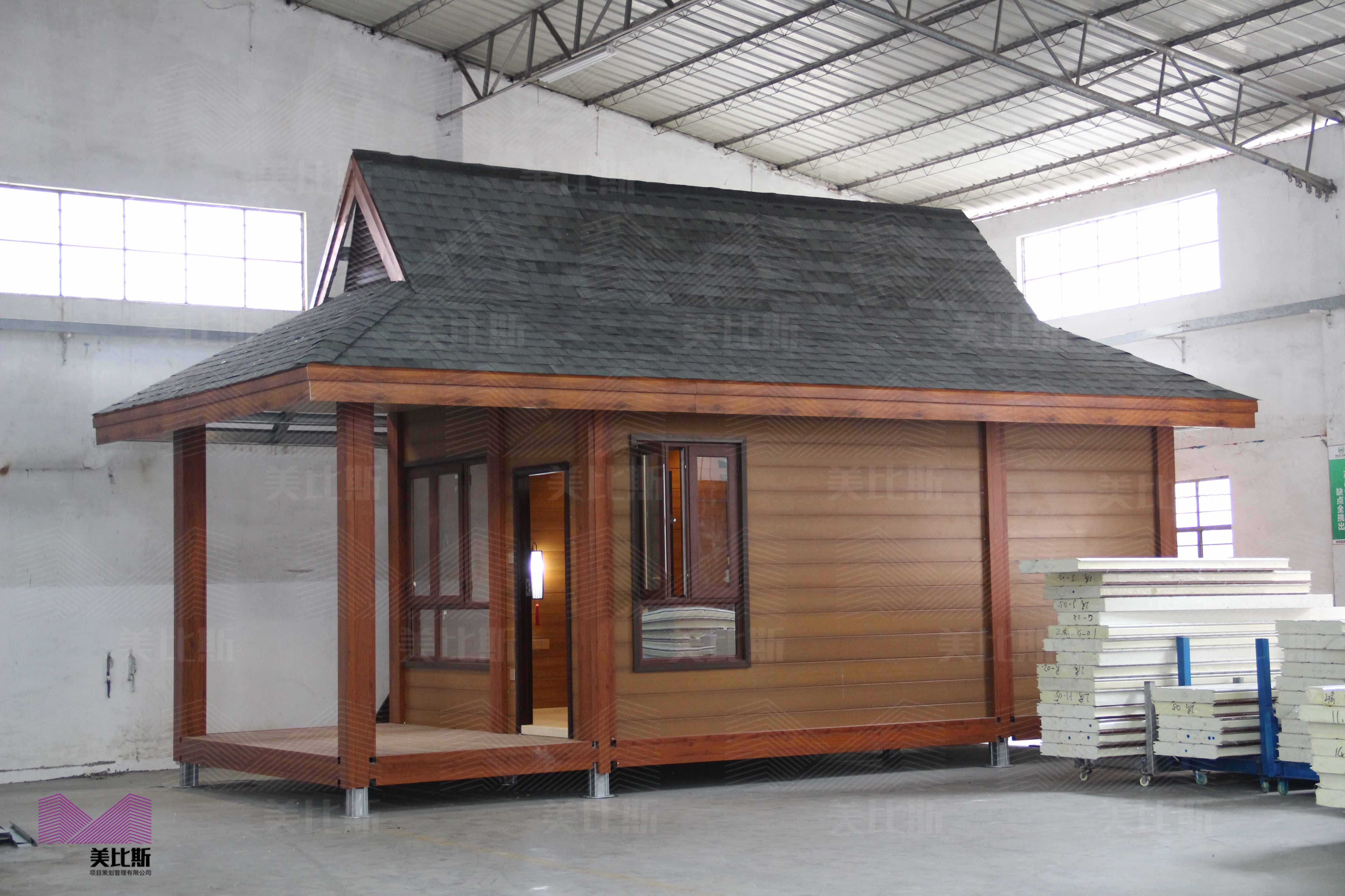 M-A-01 China supplier luxury prefabricated vacation villa 豪华度假村