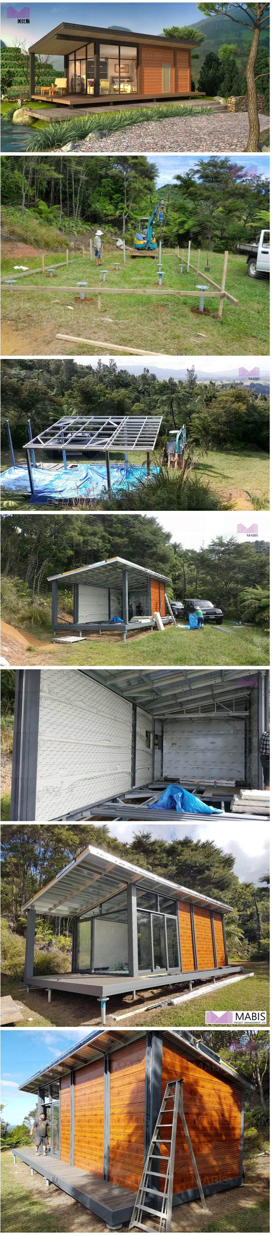 prefab house_modular house_tiny house_resort villa_beach villa_New Zealand